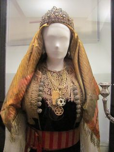 Jewish costume from the museum, via Flickr.