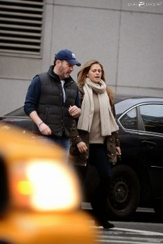 Princess Madeleine and husband Chris out and about in NY.