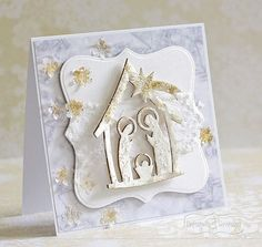 Christmas Time, Christmas Crafts, Merry Christmas, Holi, Cardmaking, Nativity, Diy And Crafts, Frame, Scrapbooking