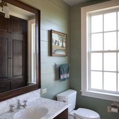 My husband could forget to replace the toilet-paper roll everyday and I wouldn't mind with a bathroom like this.