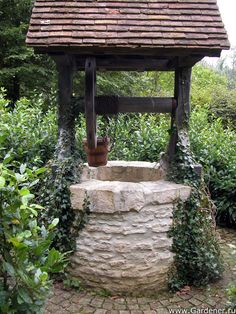 How To Build A Wishing Well Out Of Stone