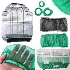 Pet Parrot Bird Cage Cover Protection Mesh Cloth Guard Seed Catcher Skirt Cover #parrotcagecover #parrotcageideas
