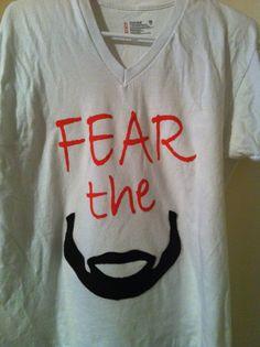 FEAR THE BEARD tshirt $15 James Harden, OKC Thunder