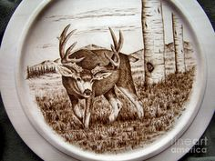 Pyrography Pyrography - Somethngs Over There by Adam Owen