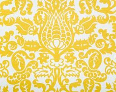 Curtains / Pillows?  Premier Prints Amsterdam Corn Yellow Slub Modern/Contemporary Damask