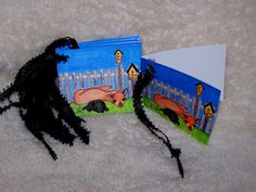 Alpaca  Gift Tag  Mini Cards by Marie by mariesimagination on Etsy, $10.00