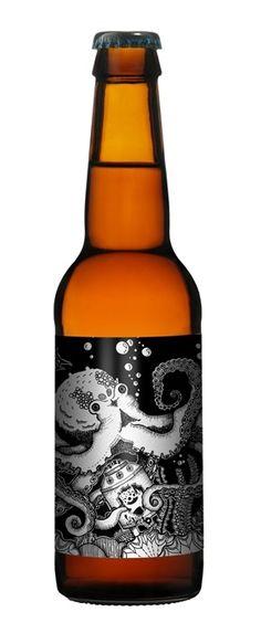 Octopus #beer #packaging PD