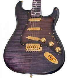 Fender Stratocaster Purple Reign
