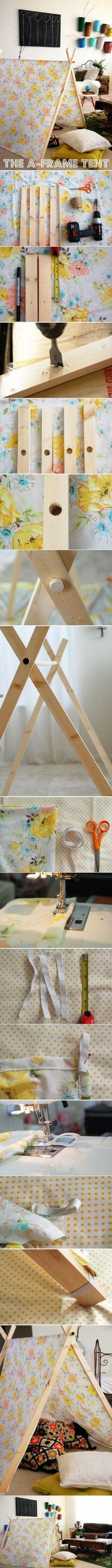geweldige en handige tent voor kinderen!