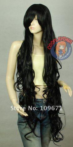 Curly Wavy Long Cosplay Wig