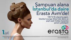 Şampuan alana İstanbul'da daire Erasta AVM'de!