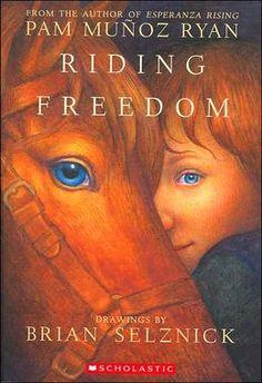 Riding Freedom- grade 4-6.  dekalb library has copies.