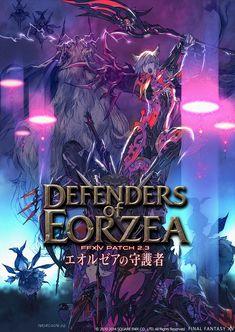 Defenders of Eorzea Poster