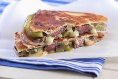 Grilled Steak Fajita Quesadillas