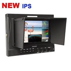 """531.99$  Buy here - http://ali26s.worldwells.pw/go.php?t=32236616151 - """"Free shipping! FEELWORLD FW789  7"""""""" Fully Featured Dual 3G-SDI Camera Top Field 800P HD Monitor"""" 531.99$"""