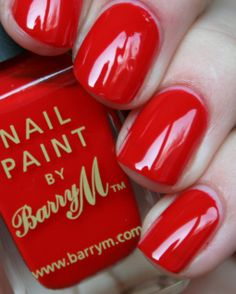 Barry M - Bright Red