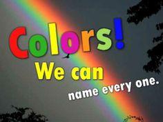 pinner said: Harry Kindergarten-Colors! My class LOVED this video last year! Harry Kindergarten, Kindergarten Colors, Preschool Colors, Preschool Music, Teaching Colors, Preschool Ideas, Math Songs, Kids Songs, Silly Songs
