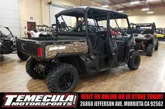 """New 2017 Can-Am Defender MAX XTâ""""¢ HD10 ATVs For Sale in California."""