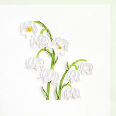 Muguet. Quilling Product Image