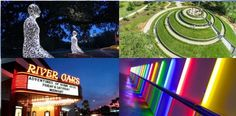 Find some of Houston's favorite & little known landmarks, destinations, art installations, attractions & places to see around Houston, Texas.
