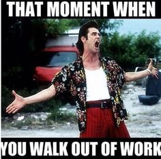 Walk Out Of Work funny happy work walk out moment instagram instagram pictures instagram graphics
