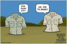 Idees vol vrees  #Afrikaans#humor en grappe#snaaks