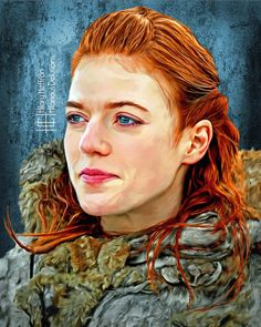 Ygritte   Game of Thrones - by Hilary Heffron, Hilarious Delusions