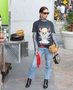 Street style (quase) descomplicado  39 looks com camiseta para se inspirar dfd90657afe