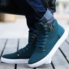 2014 Hot Men Shoes Sapatos Tenis Masculino Male Fashion Spring Autumn Leather Shoe For Men Casual High Top Shoes Canvas Sneakers-in Men's Fashion Sneakers from Shoes on Aliexpress.com | Alibaba Group
