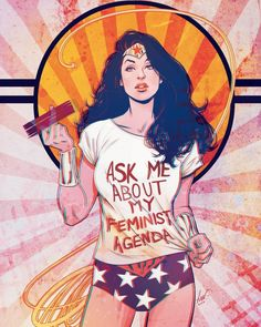 Ask Wonder Woman About Her Feminist Agenda - Lukas Werneck