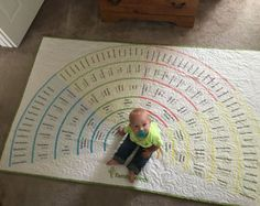 Family History Quilt, Genealogy, Ancestry, Fan Chart - Family Search Tree Quilt