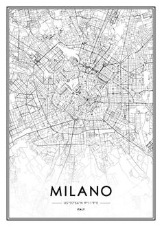 Milano Poster in the group Posters & Prints at Desenio AB (2047)