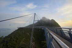 Langkawi Sky Bridge Malezya.