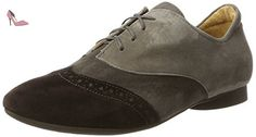 Think Guad, Derby Femme, Multicolore (Espresso/Kombi 42), 39.5 EU - Chaussures think (*Partner-Link)