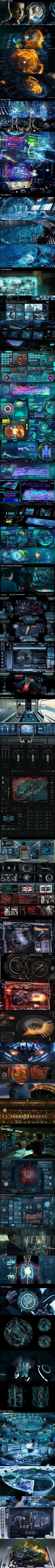 Sci-fi UI from movie