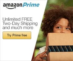 If you have never signed up with Amazon Prime, you have been missing out on a great program!  For $99 a year or $10.99 a month you will get an Amazon Prime membership that includes:  Free 2-day shipping on eligible items with no minimum order size–I can almost always find the item that I am looking for that is eligible for FREE 2-day shipping!  Some of your shipments may even be delivered on Sunday.