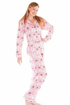 3872e426f8 Everyone loves snowmen….PJ Salvage Snowmen Flannel Pajama Set Flannel  Pajamas