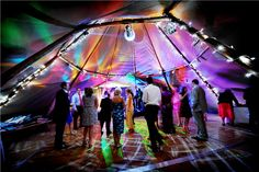 Tipi for two: festival-style fun in Cheshire -PapaKåta Summer wedding - YouAndYourWedding