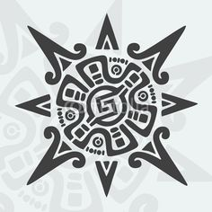 Mayan Design Symbol © fakegraphic #29288020 - See portfolio