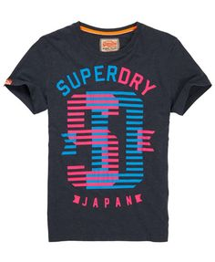 Mens - Mixer T-shirt in Midnight Marl | Superdry