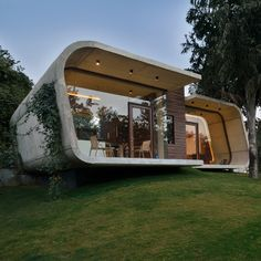Indian pool house by 42mm Architecture boasts a concrete frame and a transparent middle