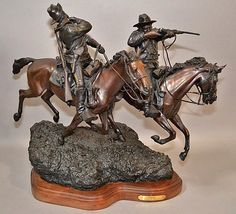 438. Spectacular Western Bronze Sculpture by CulturalPatina