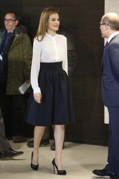 Resultado de imagen para letizia ortiz outfit