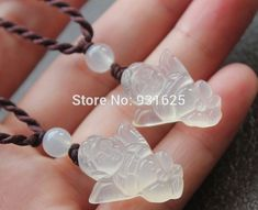 Wholesales 10pcs Lots Top Quality White Clear Agate Carved Pretty Angel Lucky Amulet Pendant necklace Fine Jade Jewelry