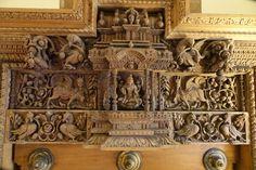 House Main Door Design, House Design, Antic Jewellery, Wooden Angel, Pooja Rooms, Antique Doors, Classic House, Wood Art, Decoration
