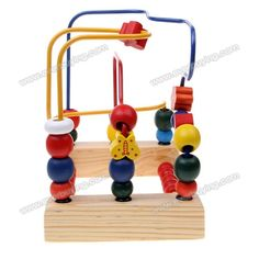 Bird and Flower Trailers Around Bead Educational Toys for Kids