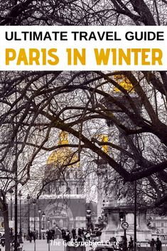 "Heading to Paris in the winter months? Don't be put off by the sometimes dreary weather. Here's my recommendations for the best things to do in Paris in winter. Paris offers up a huge array of indoor cultural sites and many cozy things to do. Paris is festive and sparkly around the holidays, with a riot of illuminations. It has a world class collection of museums, cafes, and skating rinks.  Grab a ""vin chaud"" or hot chocolate and read on. #Paris #VisitingParisInWinter #ThingsToDoInParis…"