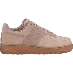 #nike #air #force1 #new #woman #pink #suede #sneakers #trainers  www.shop.jofre.eu