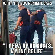 Coast Guard Boats, Us Coast Guard, Military Jokes, Military Uniforms, Navy Military, Twisted Humor, Us Navy, Troops, Funny Memes
