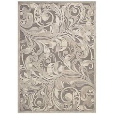 Nourison Graphic Illusions Gycam 5 ft. 3 in. x 7 ft. 5 in. Area Rug-117717 at The Home Depot
